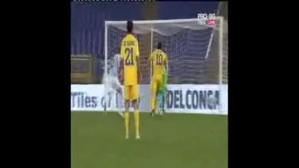 Лацио 0 - 1 Левски Гол На Йовов 17.12.09 Победа Над Лацио Със 1:0