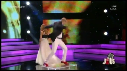 Stella Kalli & Markos Seferlis - Gia ta matia tou kosmou 9 Live J2us 28.5.14