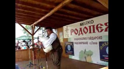 Любомир Петов и Стефан Янев - събор в село Гела