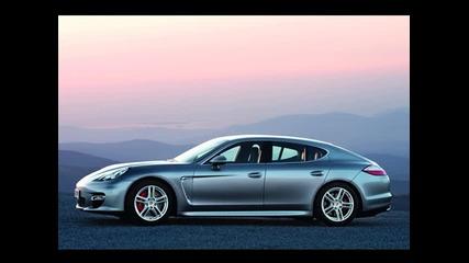 Porsche Panamera - Официални снимки.