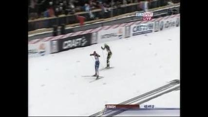 Ски-бягане: Иля Черноусов спечели двойното преследване в Рубинск