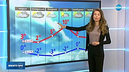 Прогноза за времето (19.01.2020 - обедна емисия)