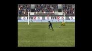 fifa 12- penalties Barcelona vs Real Madrid (високо качество)