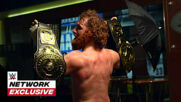 Sami Zayn gloats with the gold after Intercontinental Title win: WWE Network Exclusive, Sept. 27, 2020