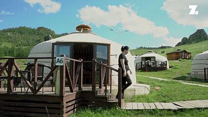 Уникалните хотели-юрти в Монголия. Преживяване за цял живот