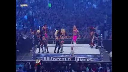 Wwe Wrestlemania 25 - 25 Diva Battle Royal