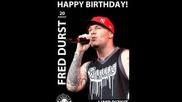 Честит 45-ти рожден ден на Фред Дърст !!!