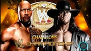 Ноща на шампионите 2013: Скалата срещу Гробаря - Мач Кард