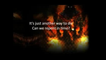Disturbed - Another Way To Die (текст)