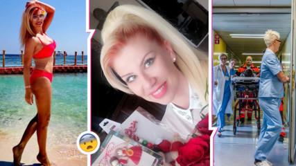 Заради коронавируса: Пратили по спешност наша поп-фолк певица във ВМА!