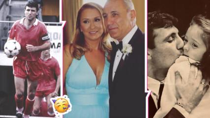 Двоен празник за Христо Стоичков - ЧРД и годишнина от брака! Посвети на съпругата си мили думи