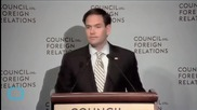 Marco Rubio Speaking On Foreign Relations Contradicts Himself