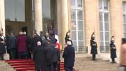 France: Putin and Trump among leaders arriving at Elysee Palace for luncheon