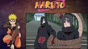Naruto Shippuuden - Итачи срещу Орочимару