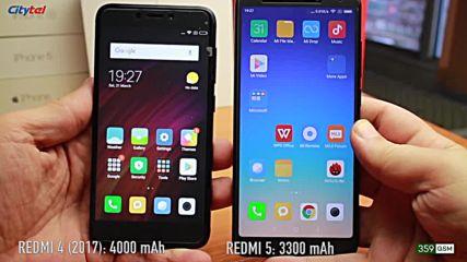 Новият ми телефон редми 5 плюс - Ревю - Xiaomi Redmi 5 Vs Redmi 5 Plus.