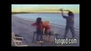 Какво не трябва да правим на риболов (смях)