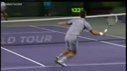 Novak Djokovic vs Tommy Haas репортаж ( Miami 2013 - R4 )