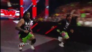 The Wyatt Family threatens and attacks the Raw announce team Raw, May 26, 2014