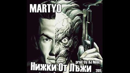 Hoво! Bg Rap [!] Martyo - Нишки От Лъжи + текст и link за сваляне