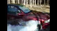 Opel Vectra B burn out