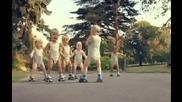 Бебета на ролери танцуват Хип Хоп (реклама на минерална вода)
