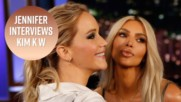 The wildest questions Jennifer Lawrence asked Kim K