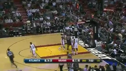 Atlanta Hawks @ Miami Heat 100 - 92 [02.01.2012]