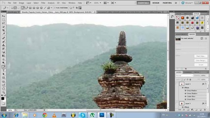 Shaolin power | Speed Art by Art Vision Tv - 2014 | Photoshop Sc5
