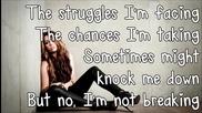 Miley Cyrus - The Climb Lyrics