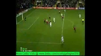 Celtik Vs Milan - 2 - 1 Champions League