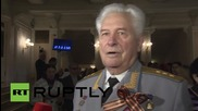 Russia: WWII veterans attend Bolshoi Theatre ahead of Victory Day celebrations