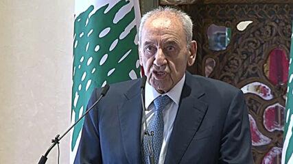 Lebanon: Parliament speaker Berri says framework agreed for Israel border talks