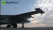 Russian Fighter Jets Hit Islamic State Command Center