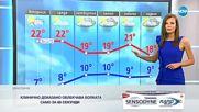 Прогноза за времето (15.10.2018 - централна емисия)