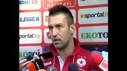 Мартин Камбуров оптимист при завръщането си в ЦСКА