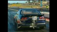 Nissan Skyline GTR - Палене На Гуми