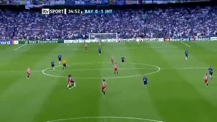 Inter Milan - Bayern Munich 1:0 (diego Milito)