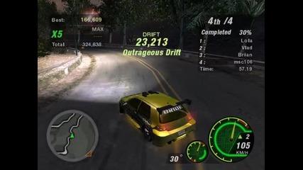 Need For Speed Undergorund 2 - Дрифт с Голфо :d