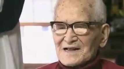 Най старият човек на планетата Джироемон Кимура 115 год.