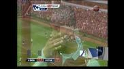 """""""Астън Вила"""" и """"Фулъм"""" завършиха 1-1 в """"българското"""" дерби в Англия"""