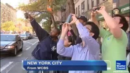 Мистерия в Ню Йорк:балони или извънземни?