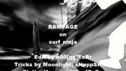 Rampage on surf ninja