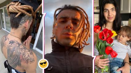 Venci Venc' се похвали с нови татуси и с цветята си: Вижте колко е пораснала дъщеричката му