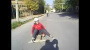 Скутер Дърпа Лагерница