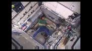 фризби в космоса