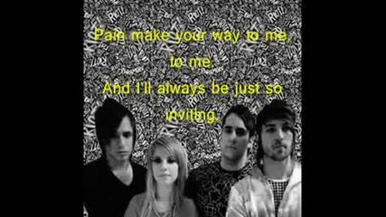 Paramore - Thats What You Get Lyrics