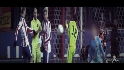 28.01.15 Атлетико Мадрид - Барселона 2:3 - Всички голове