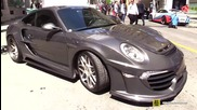 2014 Porsche 911 Turbo S Attack Anibal Automotive Design - Exterior Walkaround - F1 Montreal Gp