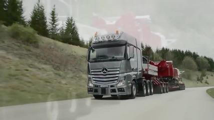 2015 Mercedes-benz Actros Slt - Test Drive