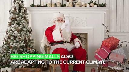 Дядо Коледа се мести онлайн тази година